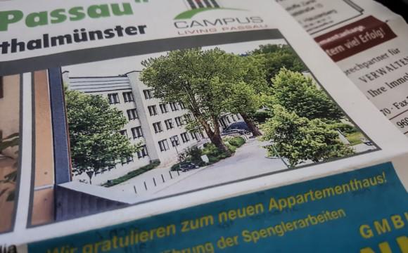 Auftragsarbeit – Immobilienmakler Passau