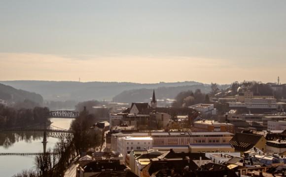 Auf dem Dach des Passauer Doms