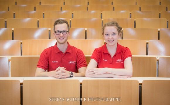 Auftragsarbeit - Teamfotos Fachschaft Jura
